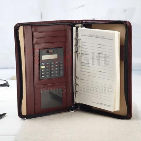 皮製筆記簿