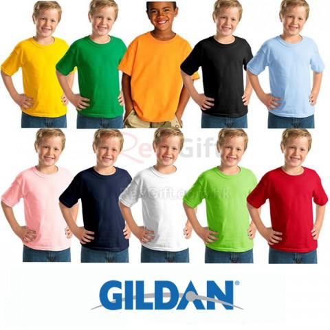 Gildan 兒童圓領 T-Shirt