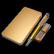 商務水晶USB套裝